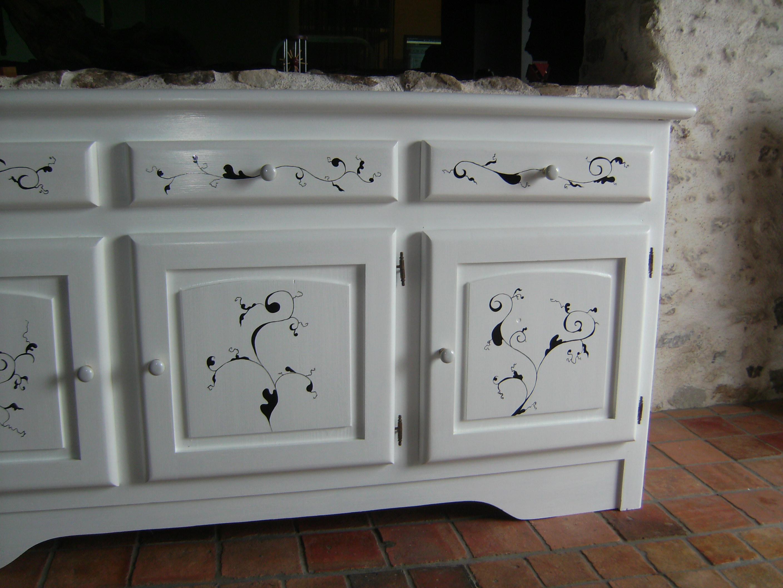R novation d un meuble en sapin blanc - Renovation de meubles ...