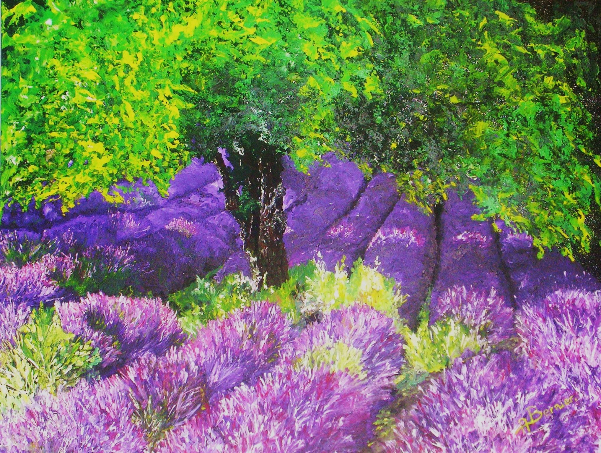 Palette de couleurs vivez la vie en couleurs - Peinture couleur lavande ...